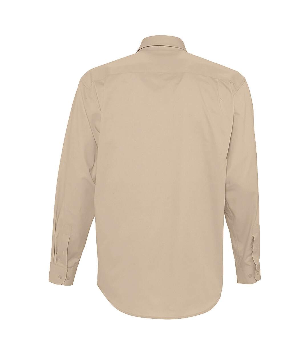 SOLS Mens Bel-Air Long Sleeve Twill Work Shirt (Beige) - UTPC389