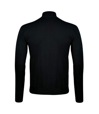 SOLS Mens Gordon Full Zip Cardigan (Grey) - UTPC504