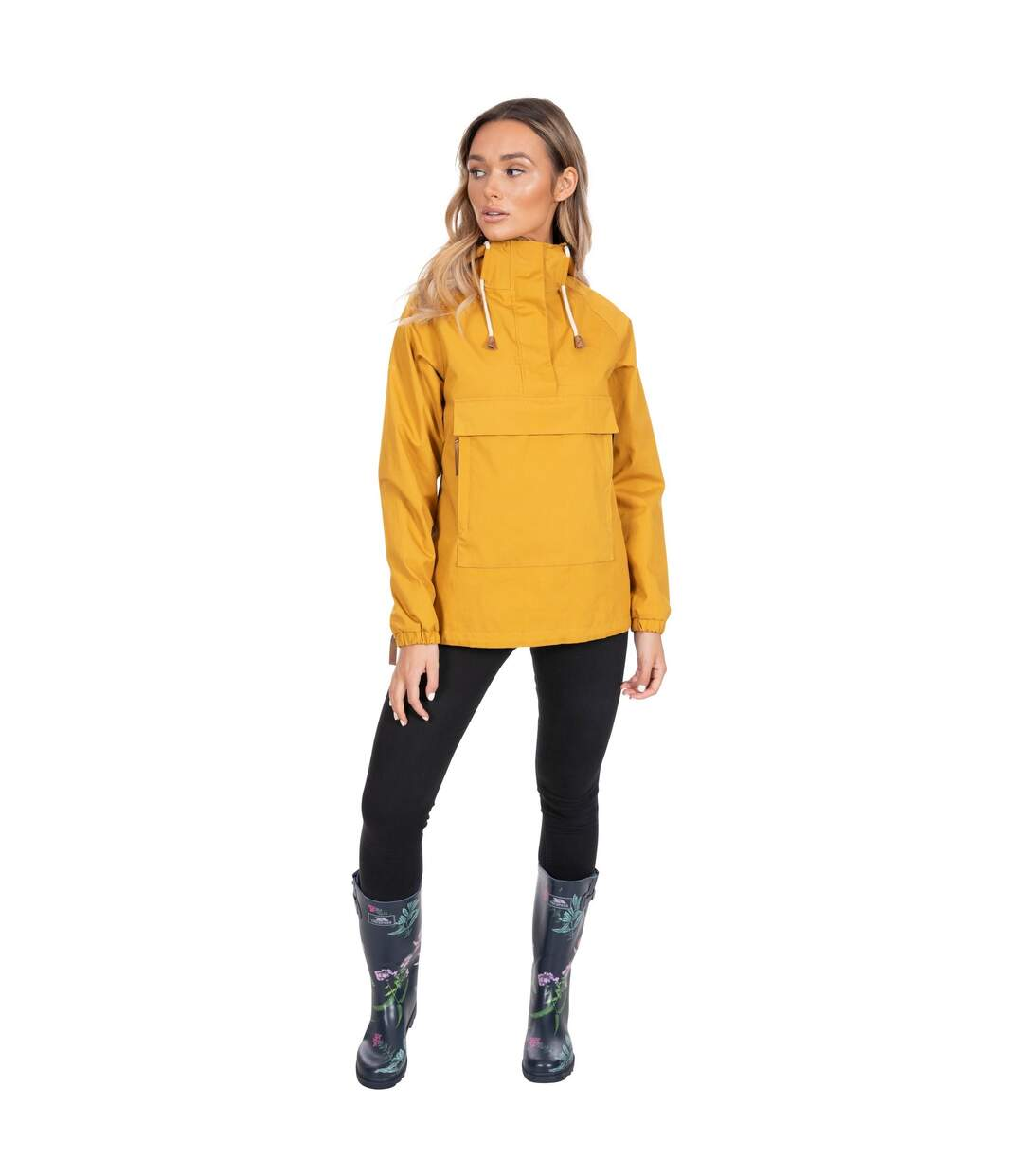 Trespass Womens/Ladies Entirely Waterproof Overhead Jacket (Maize) - UTTP5029