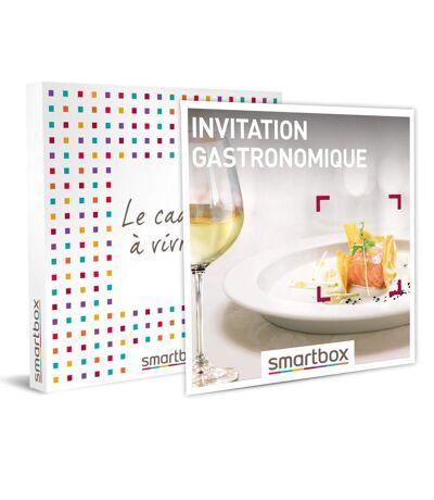 SMARTBOX - Invitation gastronomique - Coffret Cadeau Gastronomie
