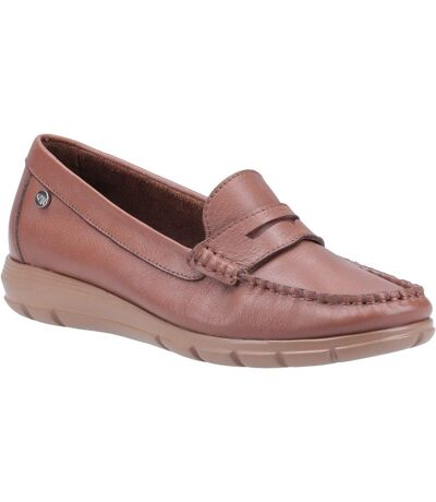 Hush Puppies Womens/Ladies Paige Leather Loafer (Tan) - UTFS7064