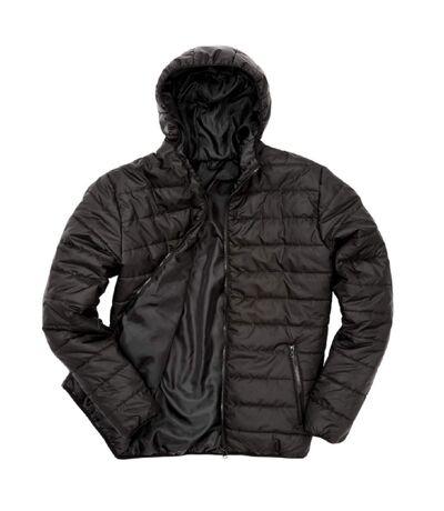 Doudoune à capuche homme - R233M - noir