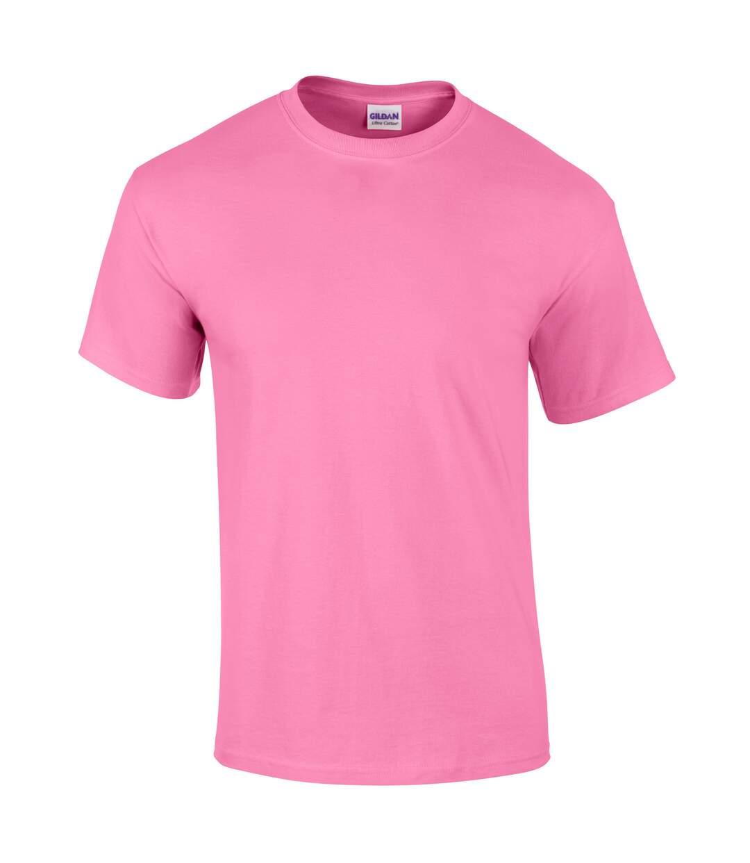 Gildan Mens Ultra Cotton Short Sleeve T-Shirt (Ash Grey) - UTBC475