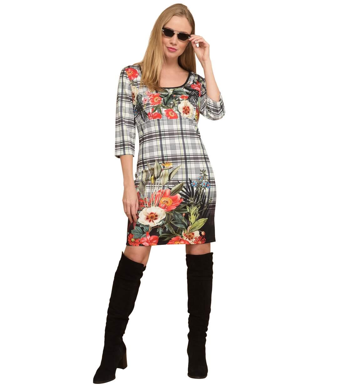 101 Idees Robe Imprimee Manches 3 4 Femme Atlas For Men