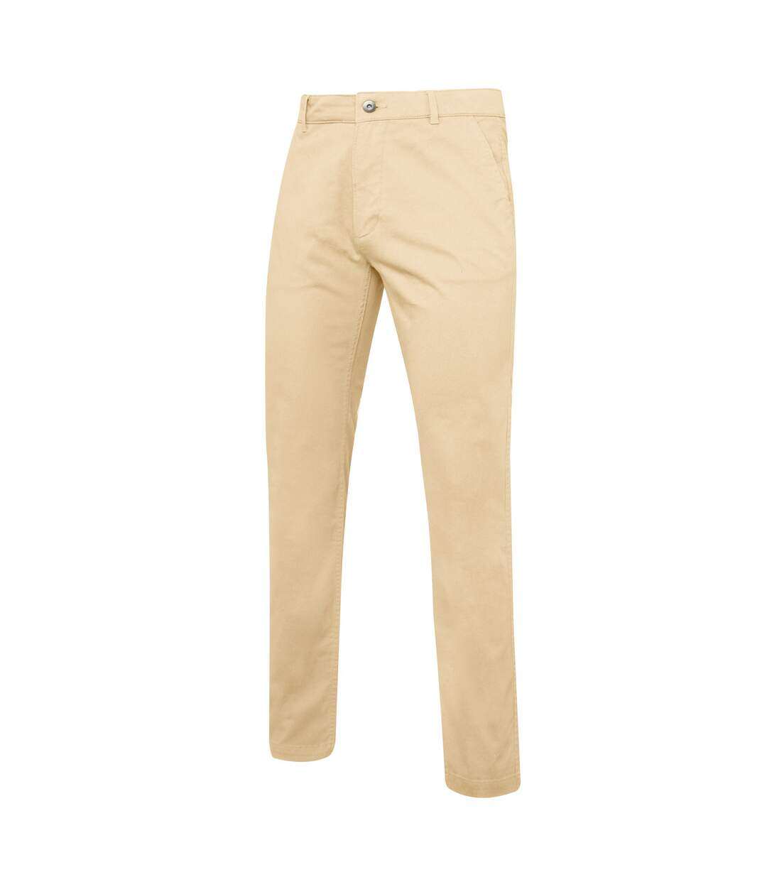 Asquith & Fox Mens Slim Fit Cotton Chino Trousers (Natural) - UTRW5355