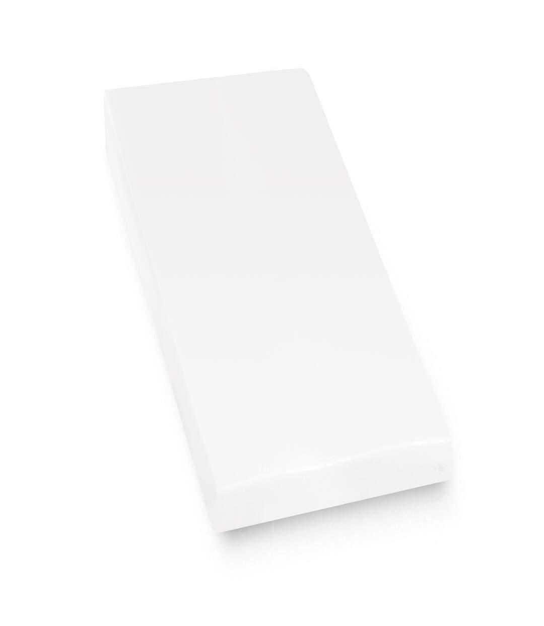 Protège matelas imperméable 70x200 cm bonnet 40cm ARNON molleton 100% coton contrecollé polyuréthane