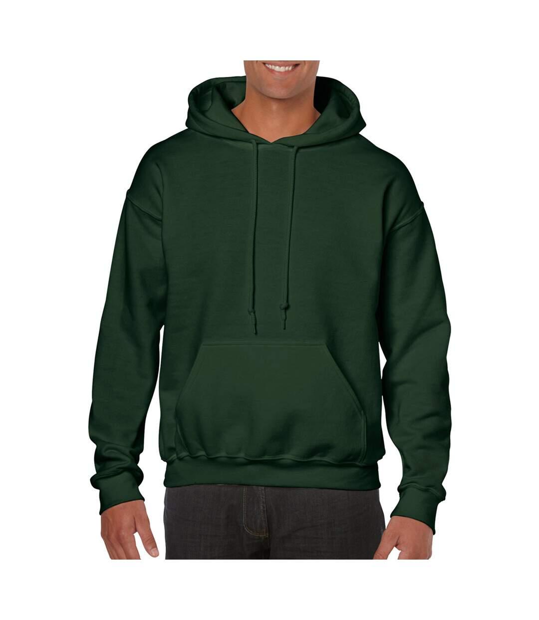 Gildan - Sweatshirt À Capuche - Unisexe (Vert foncé) - UTBC468
