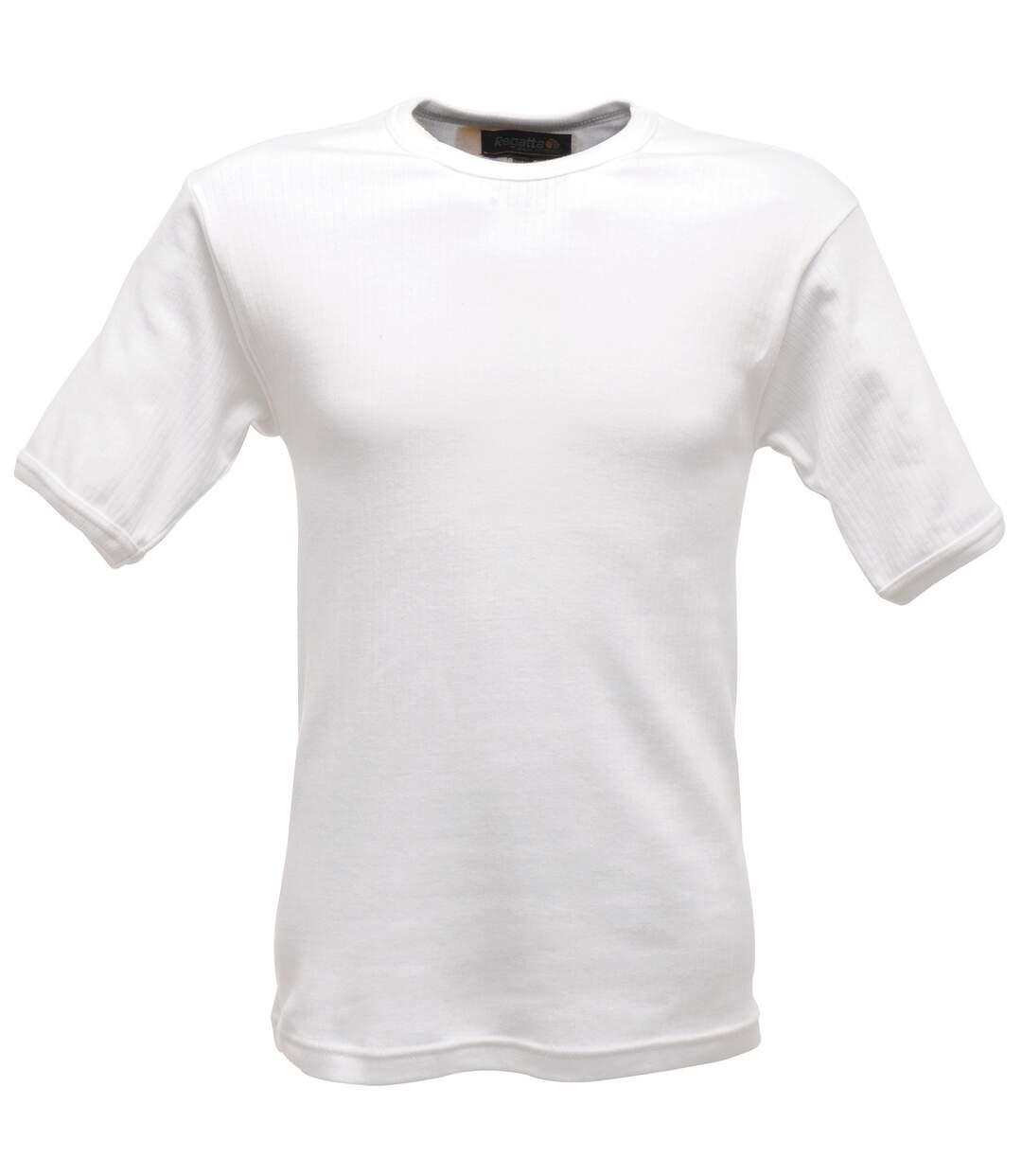 Regatta - T-shirt thermique à manche courtes - Homme (Blanc) - UTRW1258