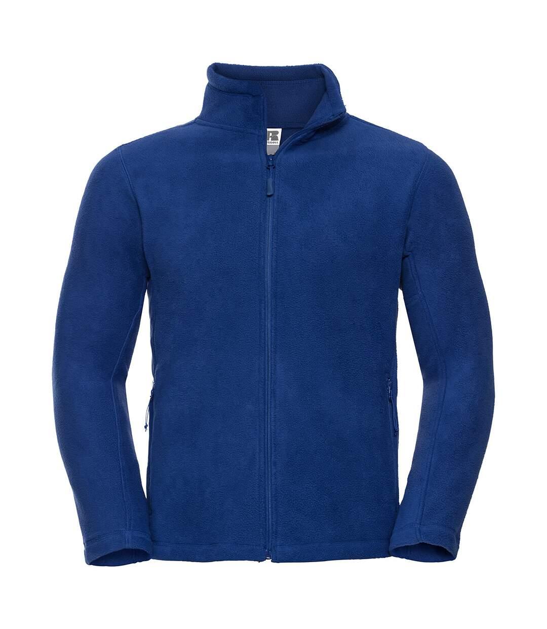 Russell Mens Full Zip Outdoor Fleece Jacket (Bright Royal) - UTBC575