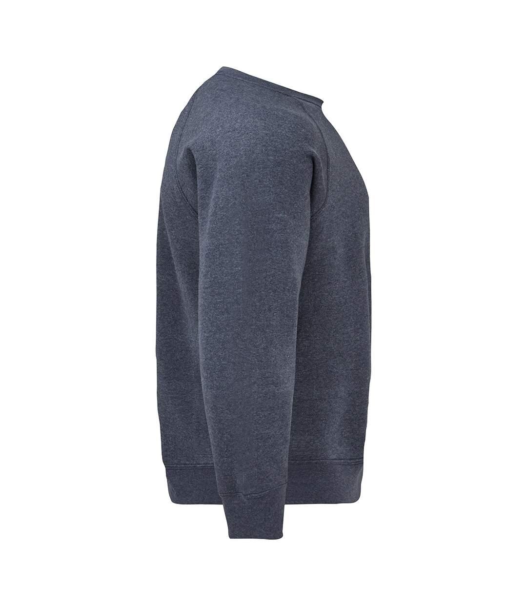 Fruit Of The Loom Mens Raglan Sleeve Belcoro® Sweatshirt (Heather Navy) - UTBC368