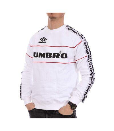 Sweat Blanc Homme Umbro Street Crewneck