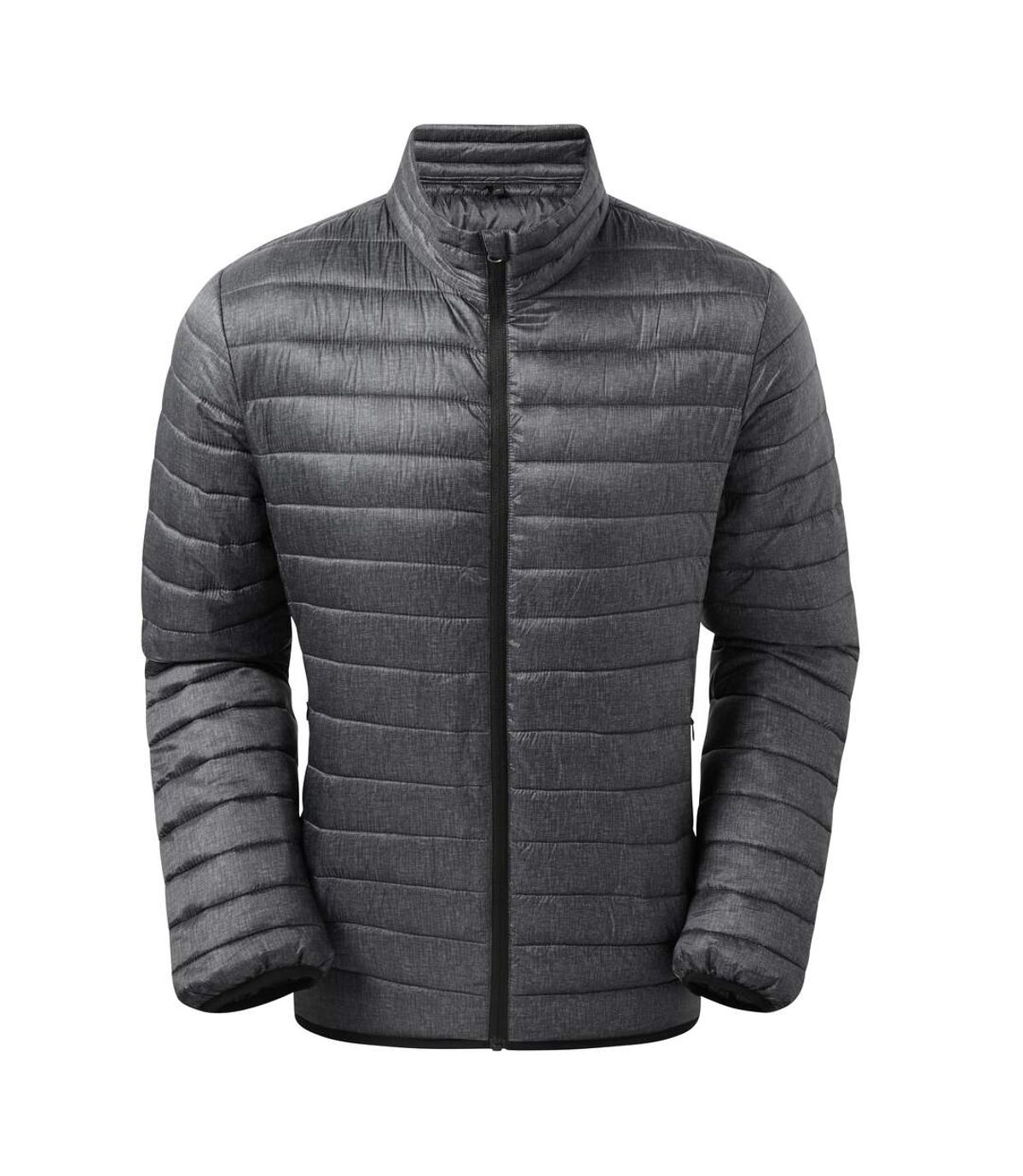 2786 Mens Melange Padded Jacket (Charcoal Melange) - UTRW7331
