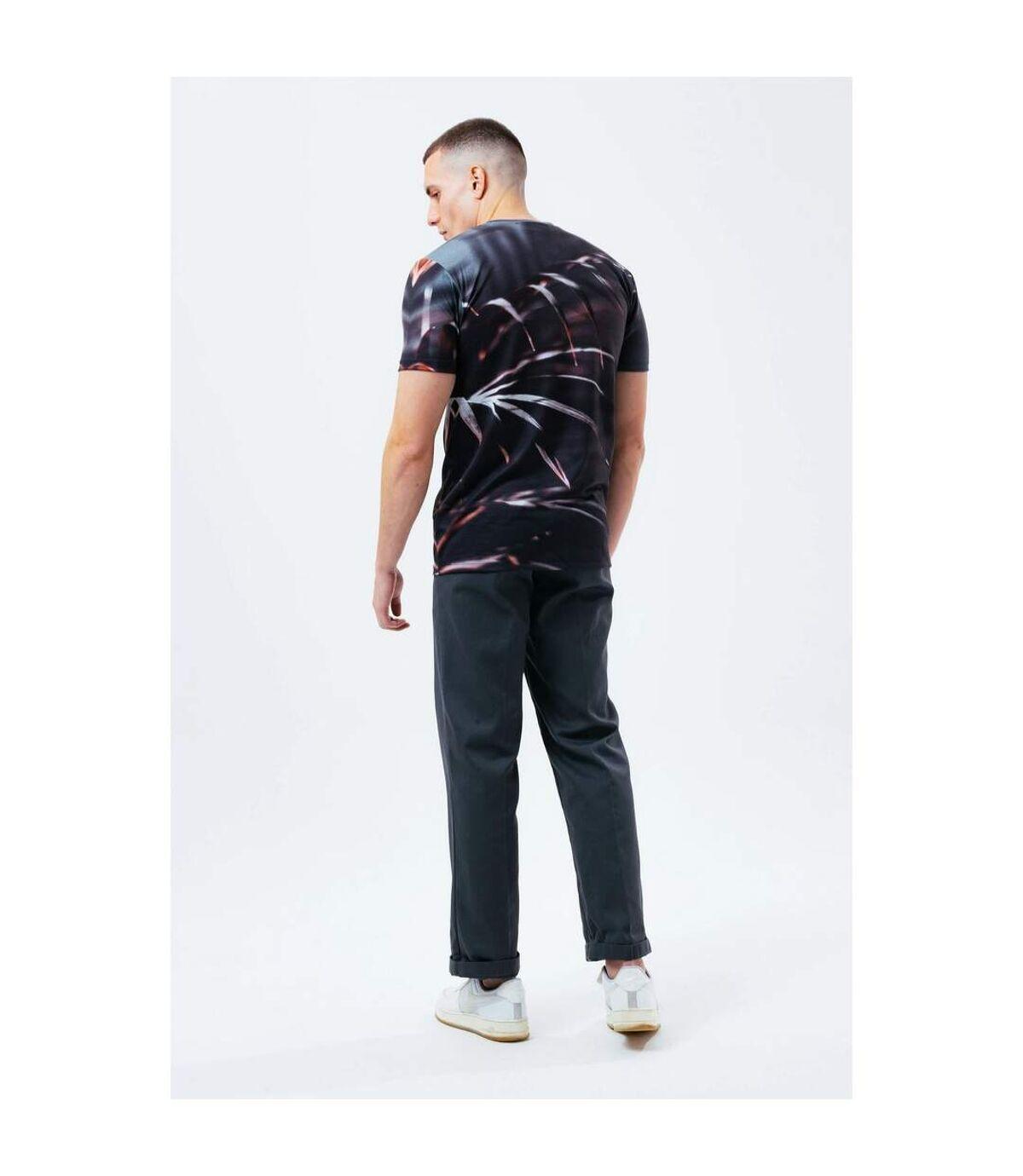 Hype Mens Vintage Palm Print T-Shirt (Multicolore) - UTHY5118