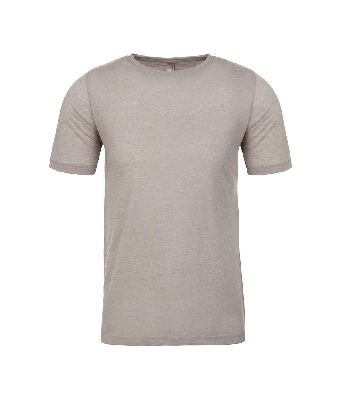 Next Level Mens Short-Sleeved T-Shirt (Silver) - UTPC4182