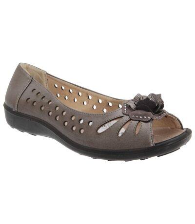 Boulevard - Chaussures d'été - Femme (Etain) - UTDF445