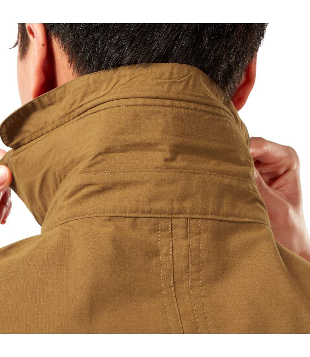 Craghoppers Mens Kiwi Short-Sleeved Shirt (Rubber Brown) - UTCG1606