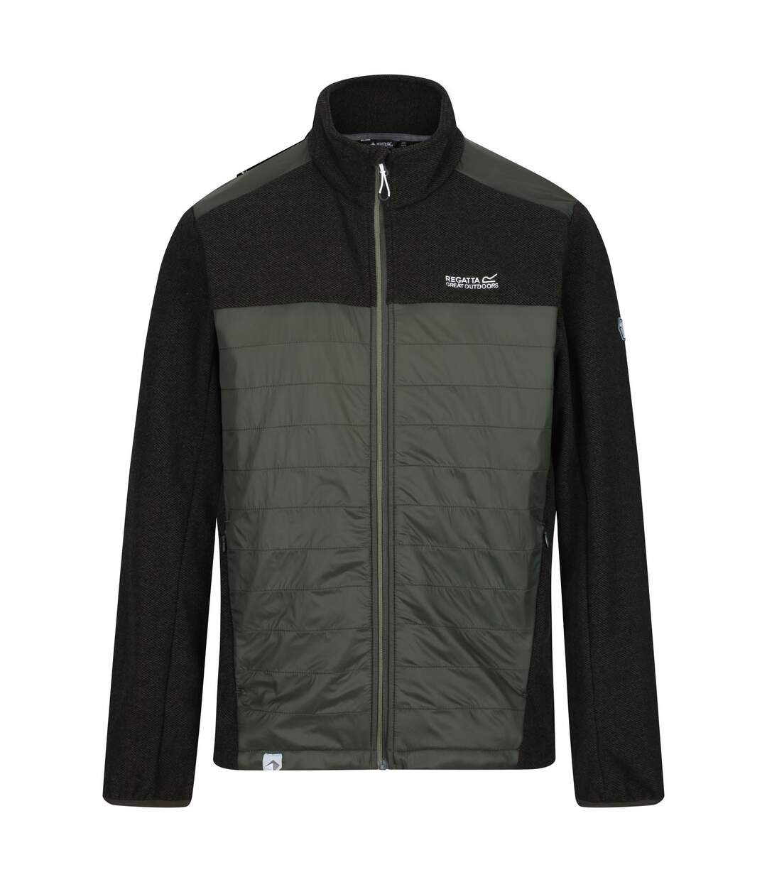 Regatta Mens Colbeck Insulated Fleece (Bayleaf Green/Black) - UTRG4473