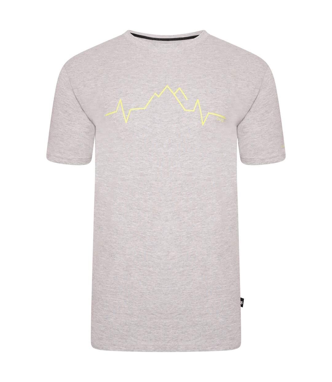 Dare 2B Mens Differentiate Graphic T-Shirt (Ash Grey) - UTRG5020