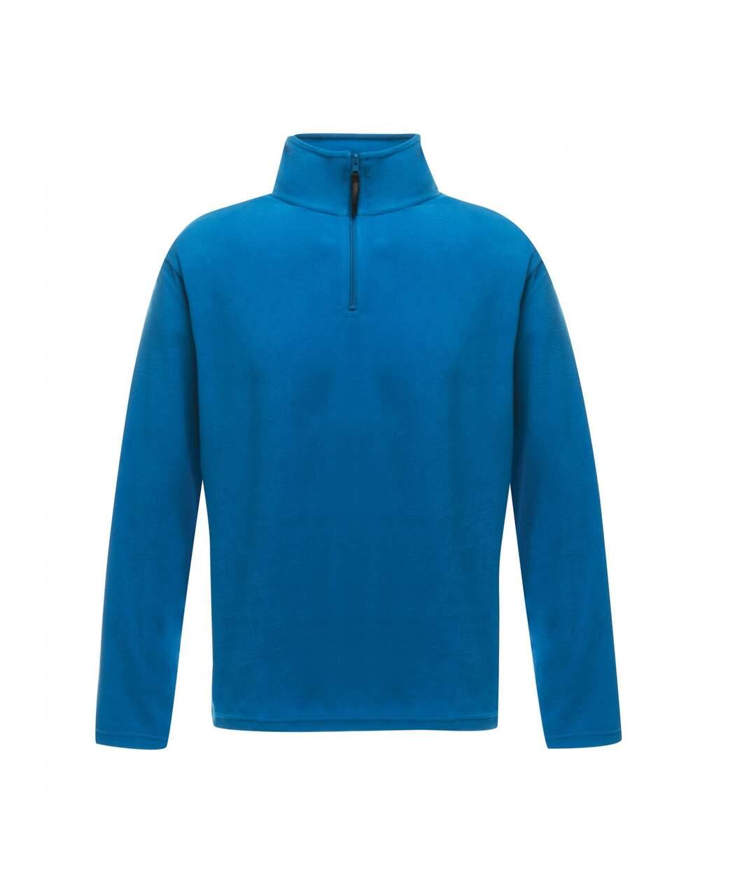 Regatta Mens Micro Zip Neck Fleece Top (Oxford Blue) - UTRG1580