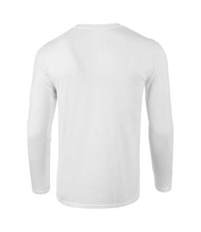 Gildan - T-shirts manches longues - Hommes (Blanc) - UTBC4808