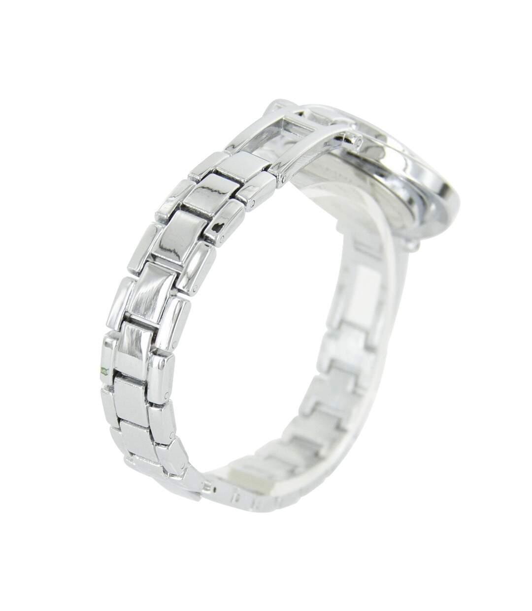 Dégagement Montre Femme GIORGIO bracelet Acier Argenté dsf.d455nksdKLFHG