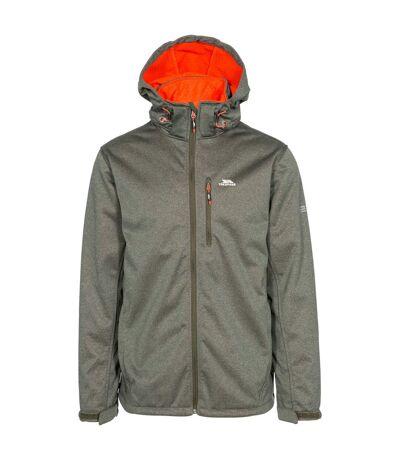 Trespass Mens Maynard TP75 Softshell Jacket (Olive Marl) - UTTP4261