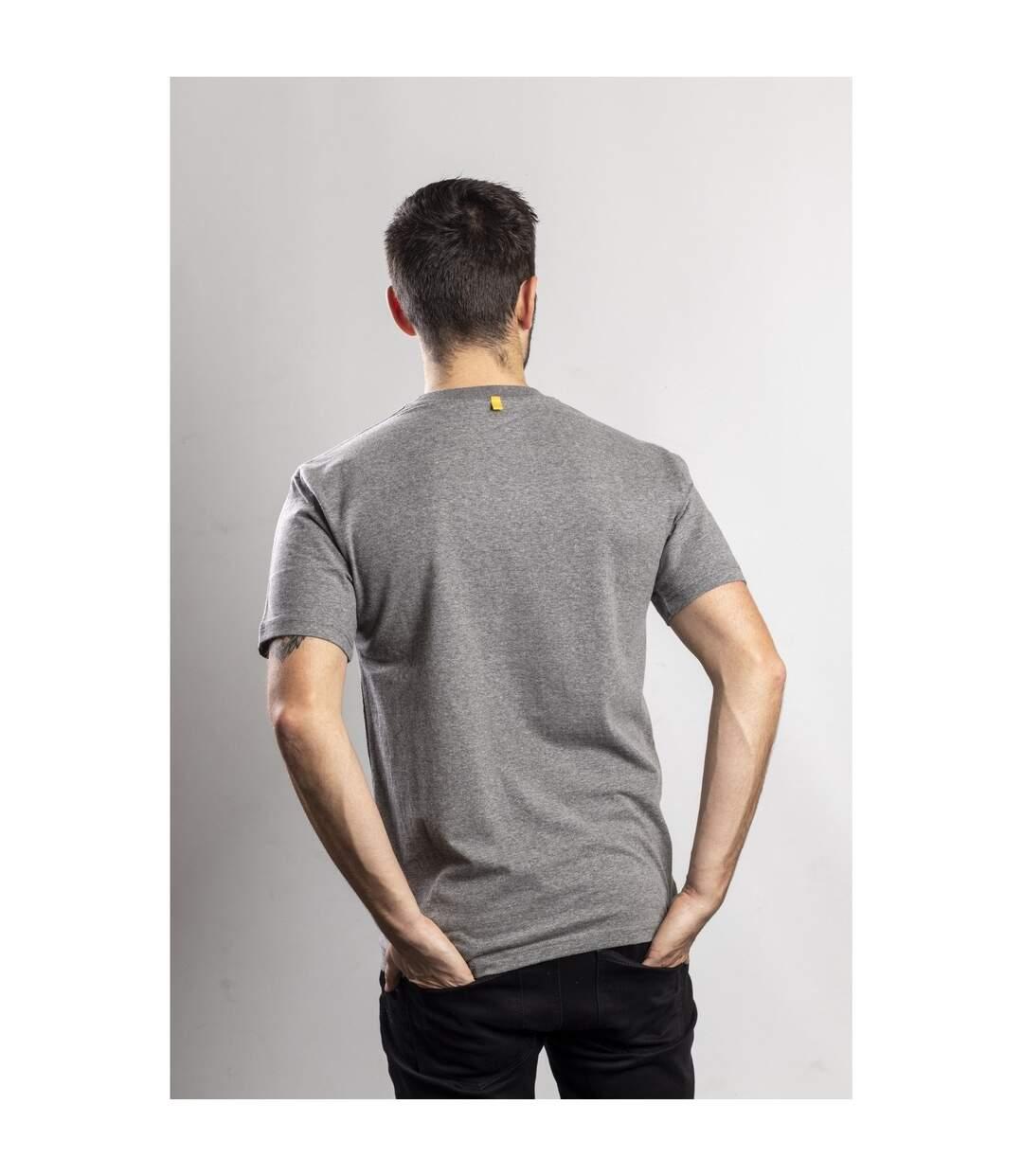 Caterpillar Mens Trademark Logo T-Shirt (Dark Heather Grey) - UTFS5136