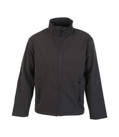Absolute Apparel Mens Classic Softshell (Black) - UTAB132