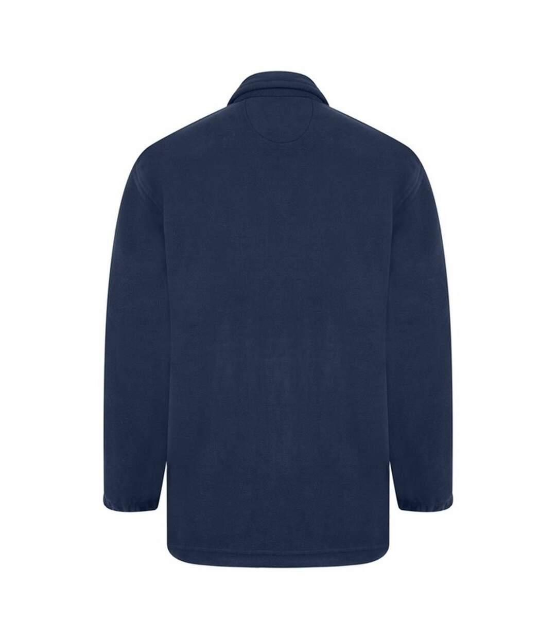 Absolute Apparel Heritage Full Zip Fleece (Navy) - UTAB128