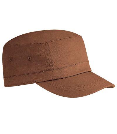 Beechfield - Casquette armée 100% coton - Homme (Marron clair) - UTRW2035