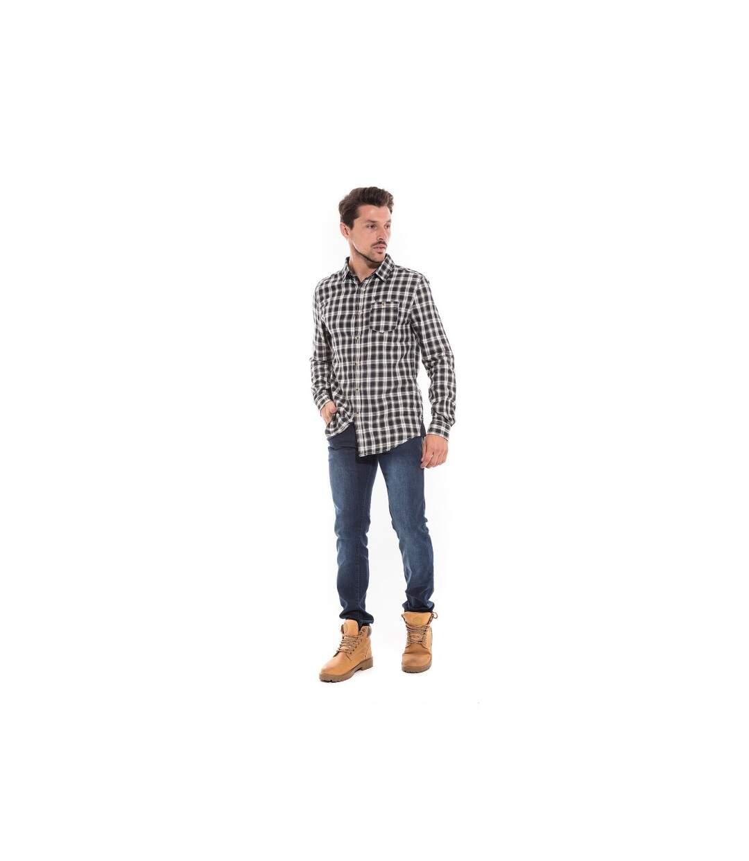 Chemise manches longues carreaux TAXIS - RITCHIE