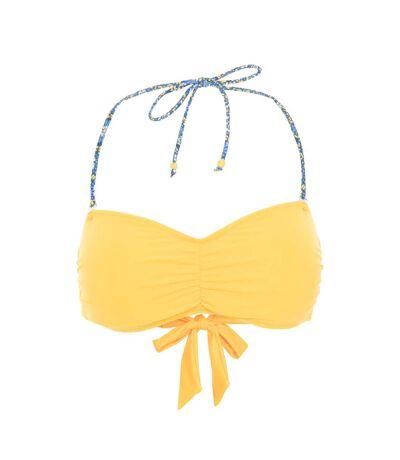 Trespass Womens/Ladies Jessica Bandeau Bikini Top (Sunshine) - UTTP5034