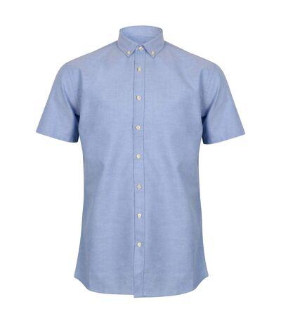 Henbury Modern - Chemise Oxford à manches courtes - Homme (Bleu) - UTRW5425