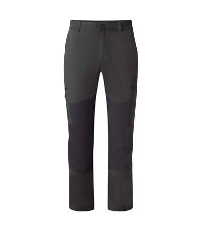 Craghoppers Mens NosiLife Pro Adventure Trousers (Black/Black Pepper) - UTCG1133