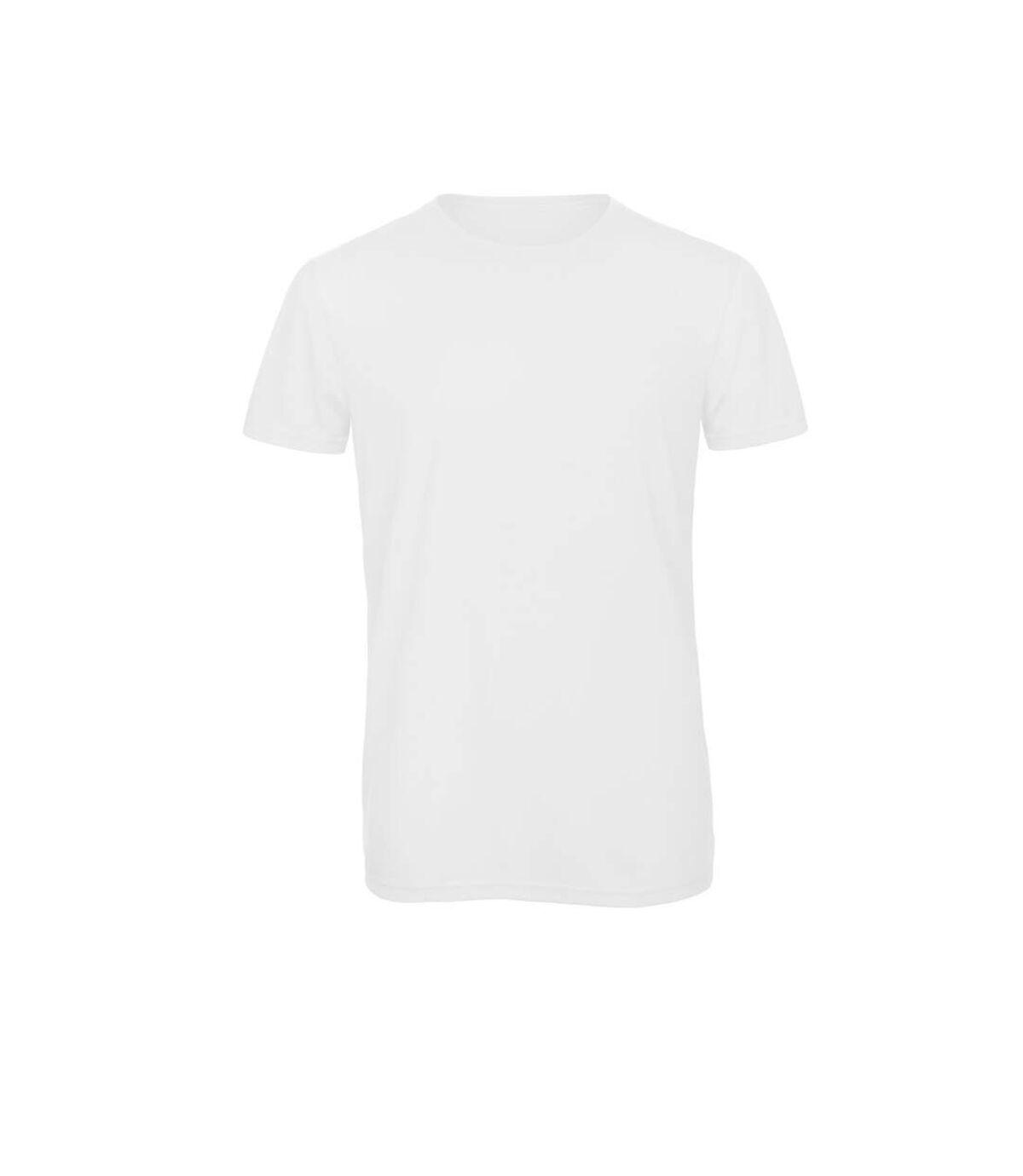 B&C Mens Favourite Short Sleeve Triblend T-Shirt (White) - UTBC3638