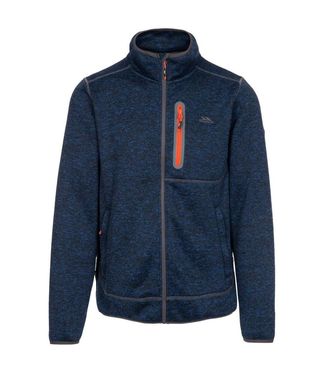 Trespass Mens Bingham Fleece Jacket (Navy Marl) - UTTP4287