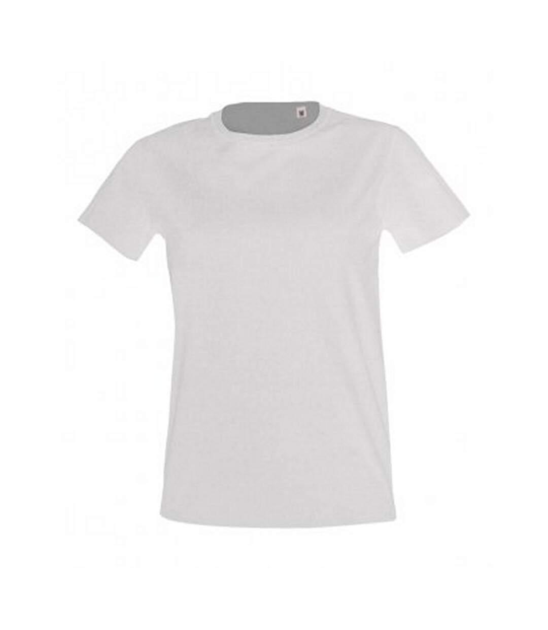 Sols - T-Shirt Imperial - Femme (Blanc) - UTPC2907