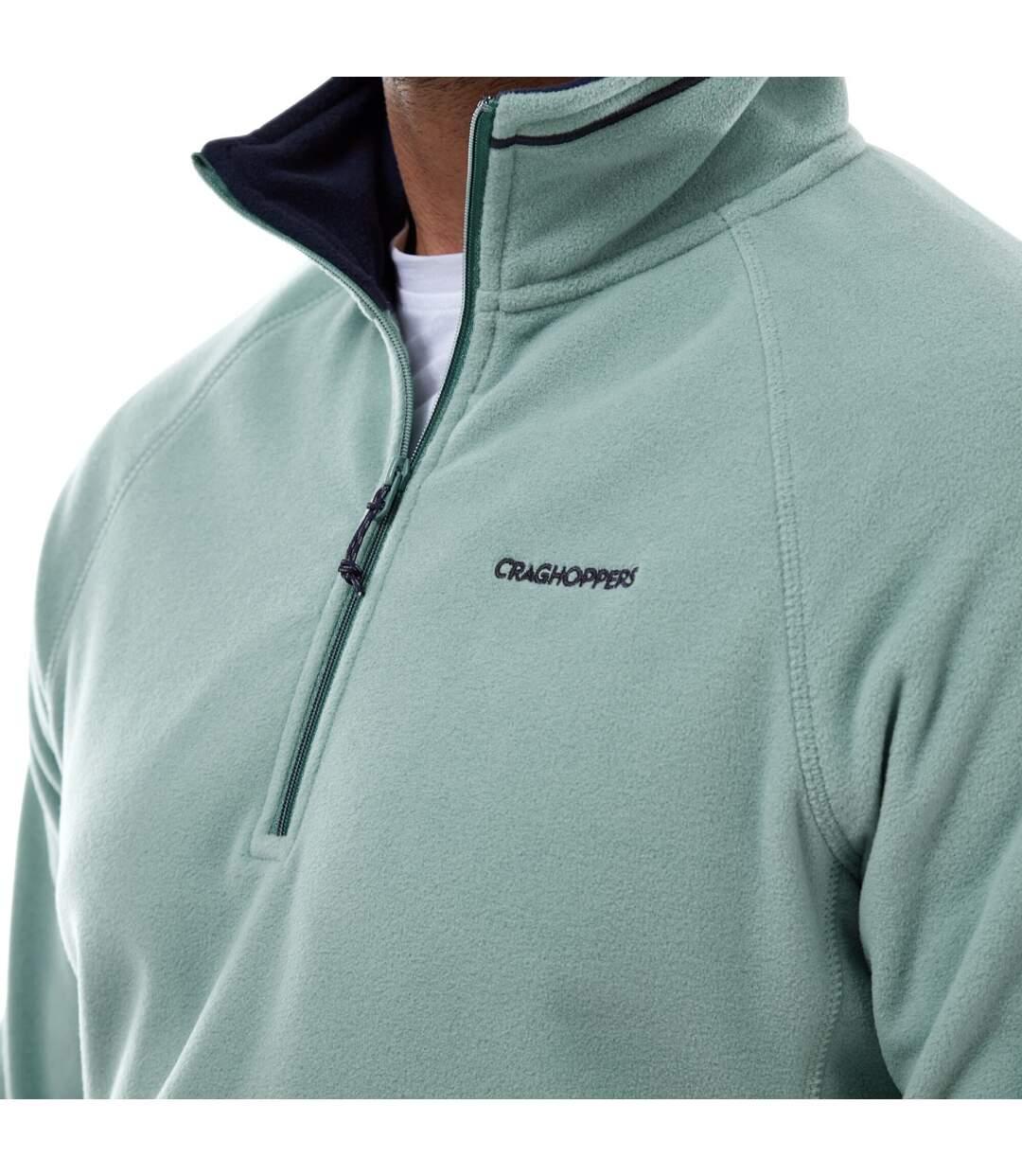 Craghoppers Mens Corey VI Half Zip Fleece Top (Dusty Aqua) - UTCG1466