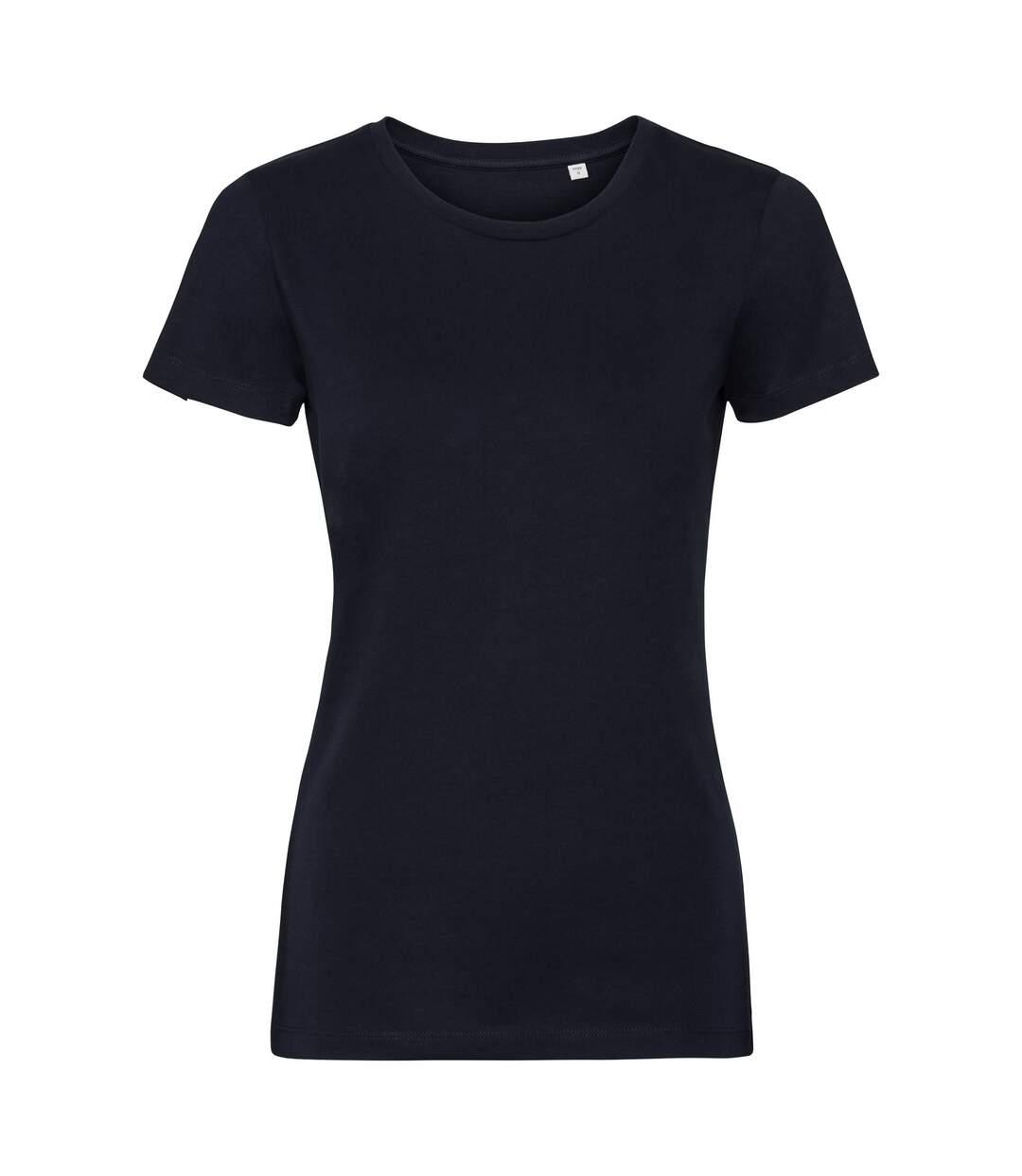 Russell - T-Shirt Bio Authentic - Femme (Blanc) - UTRW6661