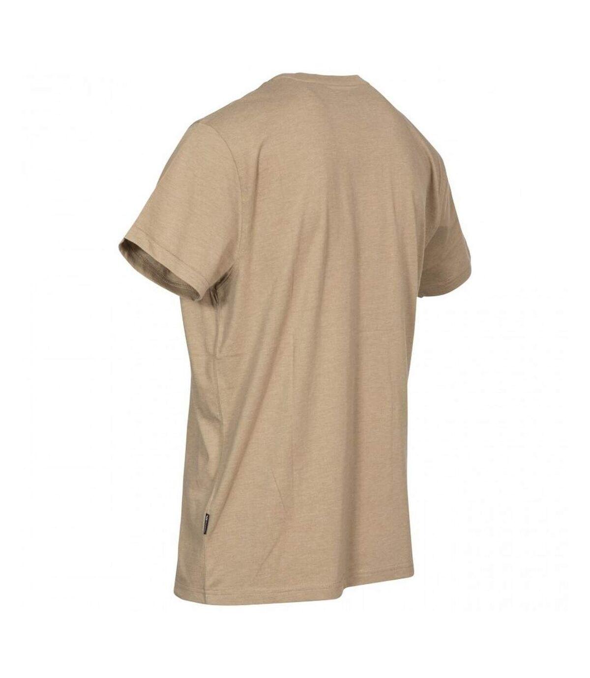 Trespass Mens Estate T-Shirt (Oatmeal Marl) - UTTP4296