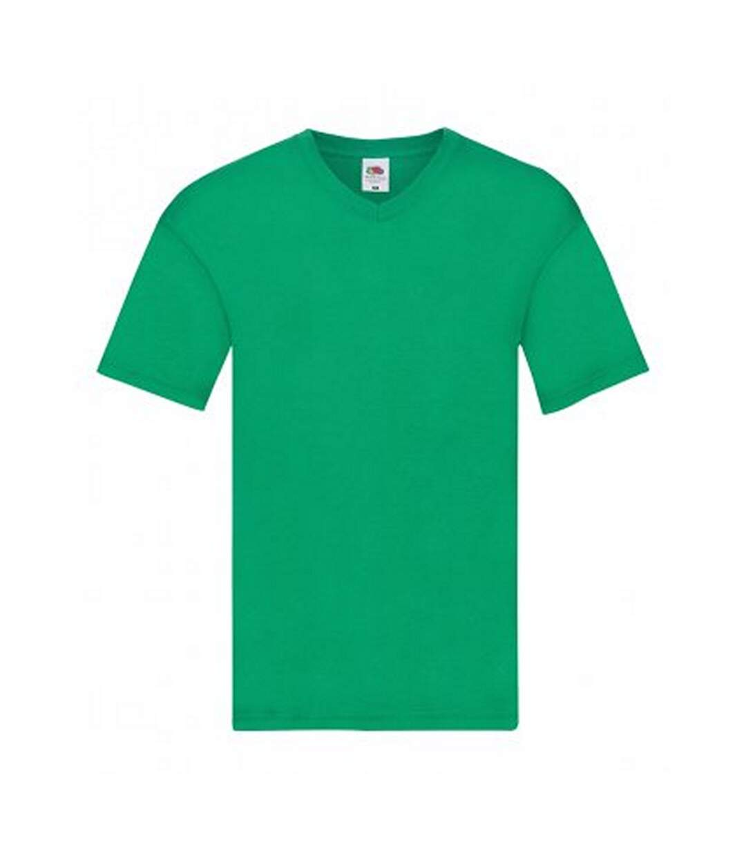 Fruit Of The Loom Mens Original V Neck T-Shirt (Kelly) - UTPC3034
