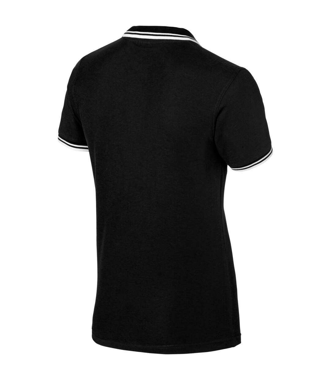 Slazenger Mens Deuce Short Sleeve Polo (Pack of 2) (Solid Black) - UTPF2500
