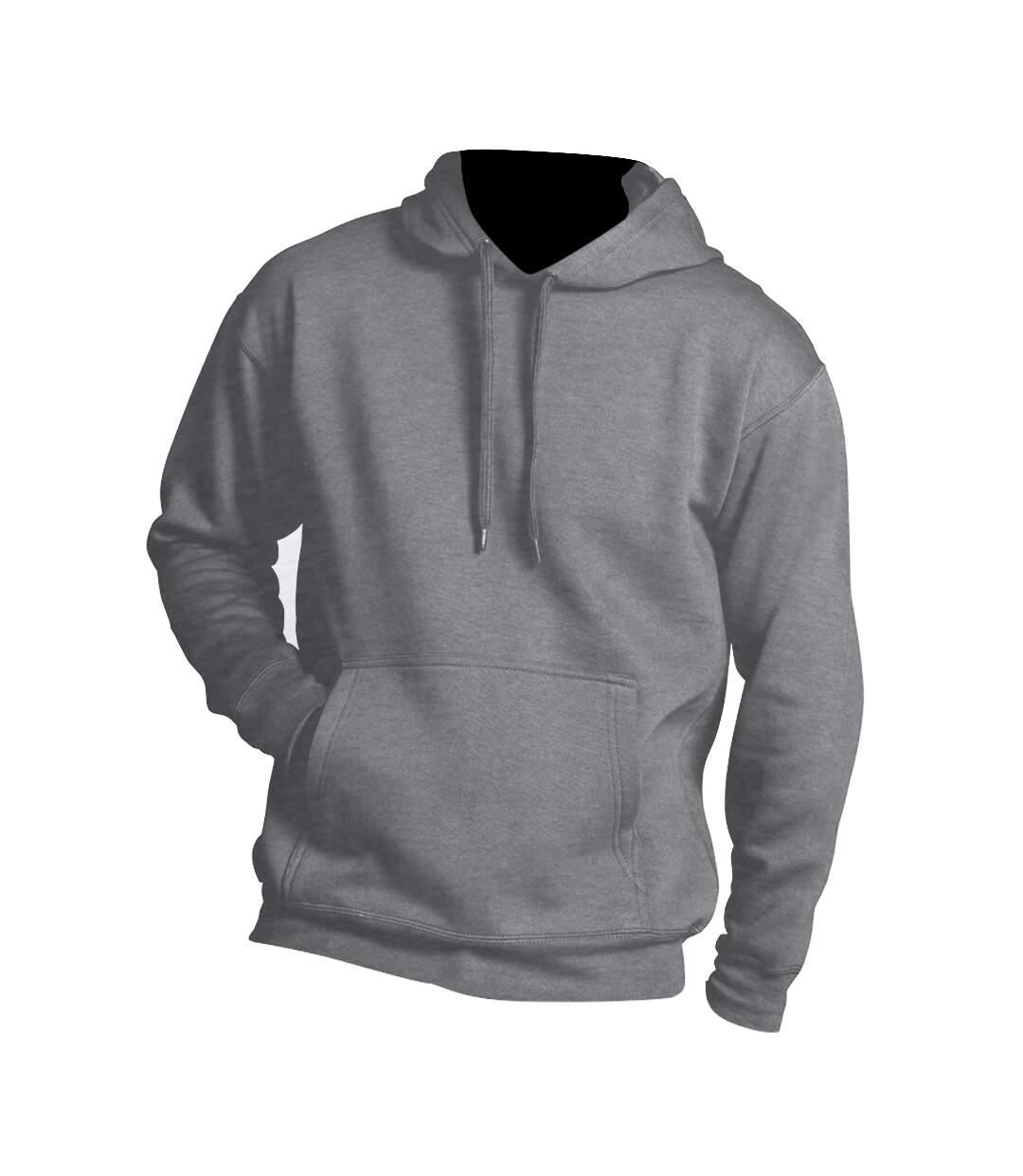 SOLS Slam Unisex Hooded Sweatshirt / Hoodie (Black) - UTPC381