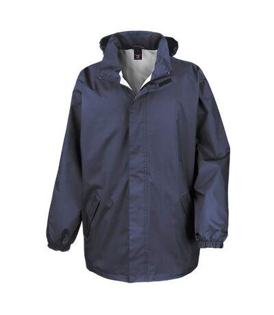 Result Mens Core Midweight Waterproof Windproof Jacket (Navy Blue) - UTBC899
