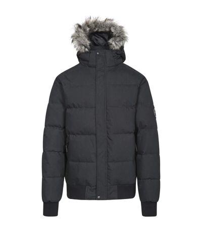 Trespass - Veste avec capuche fouree Calgary DLX - Homme (Noir) - UTTP4282