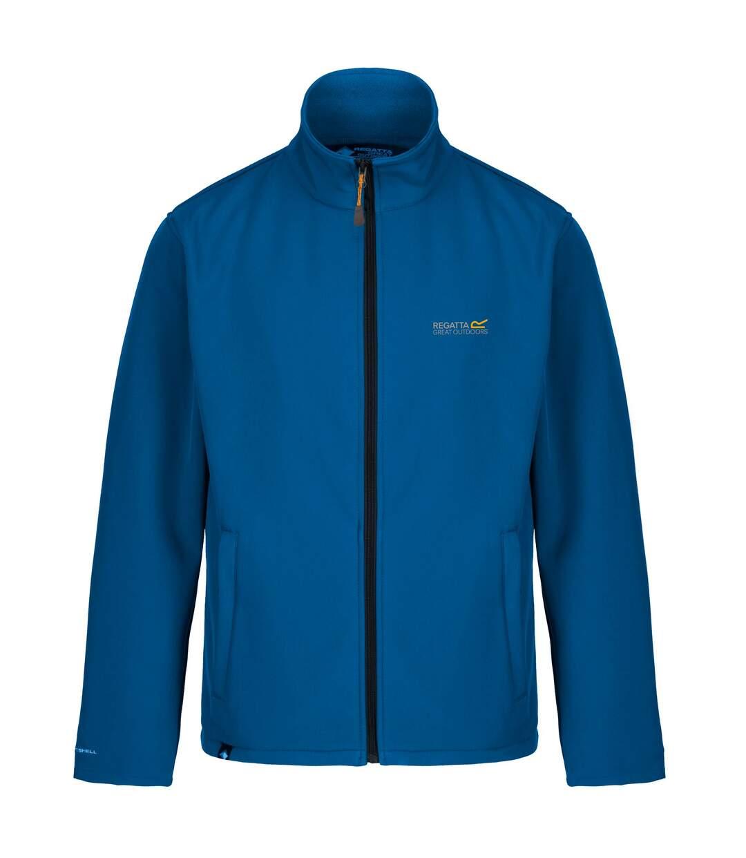 Regatta Great Outdoors Mens Cera III Lightweight Softshell Jacket (Oxford Blue/Navy) - UTRG845