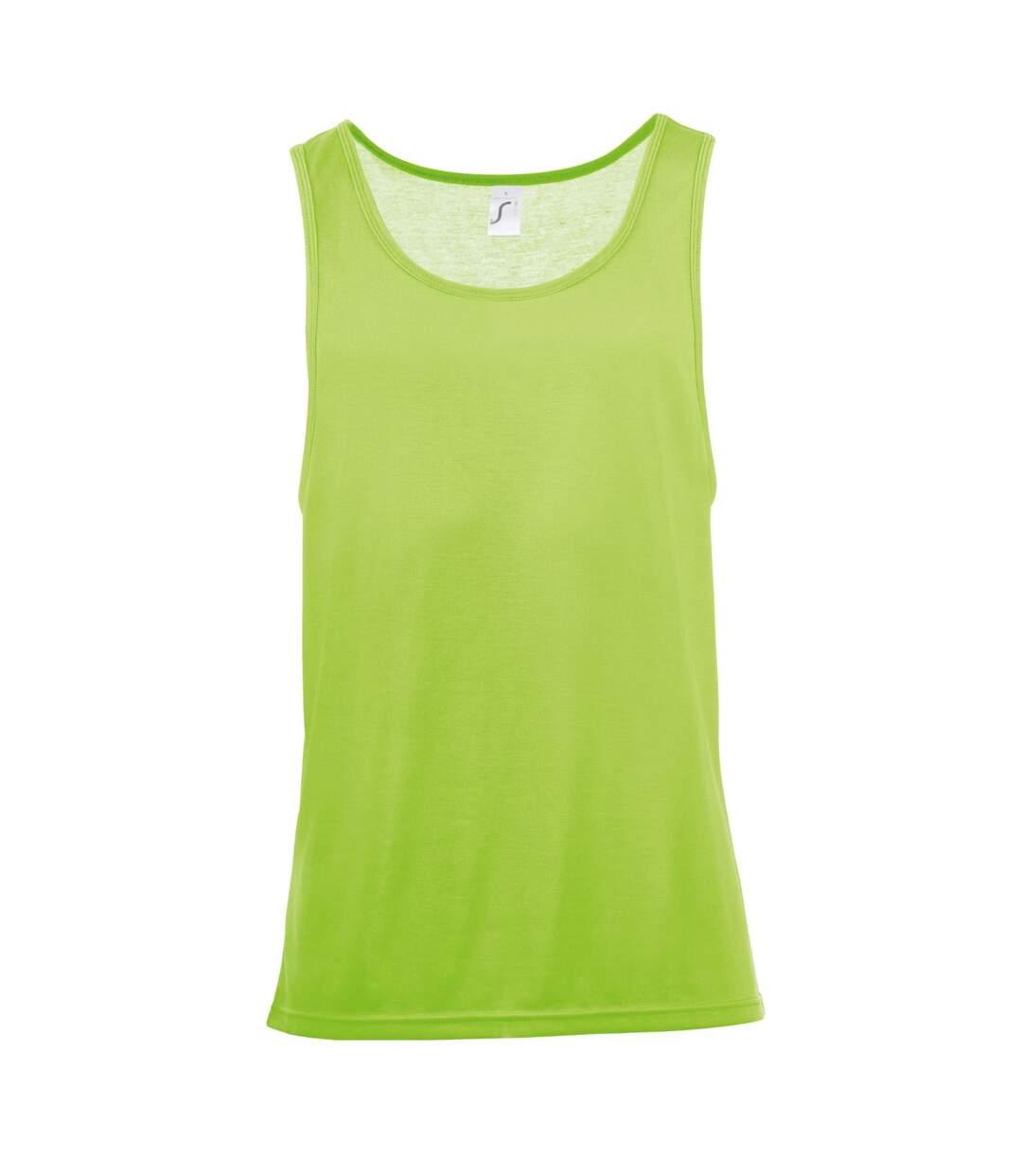 SOLS Unisex Jamaica Sleeveless Tank / Vest Top (Neon Orange) - UTPC2179