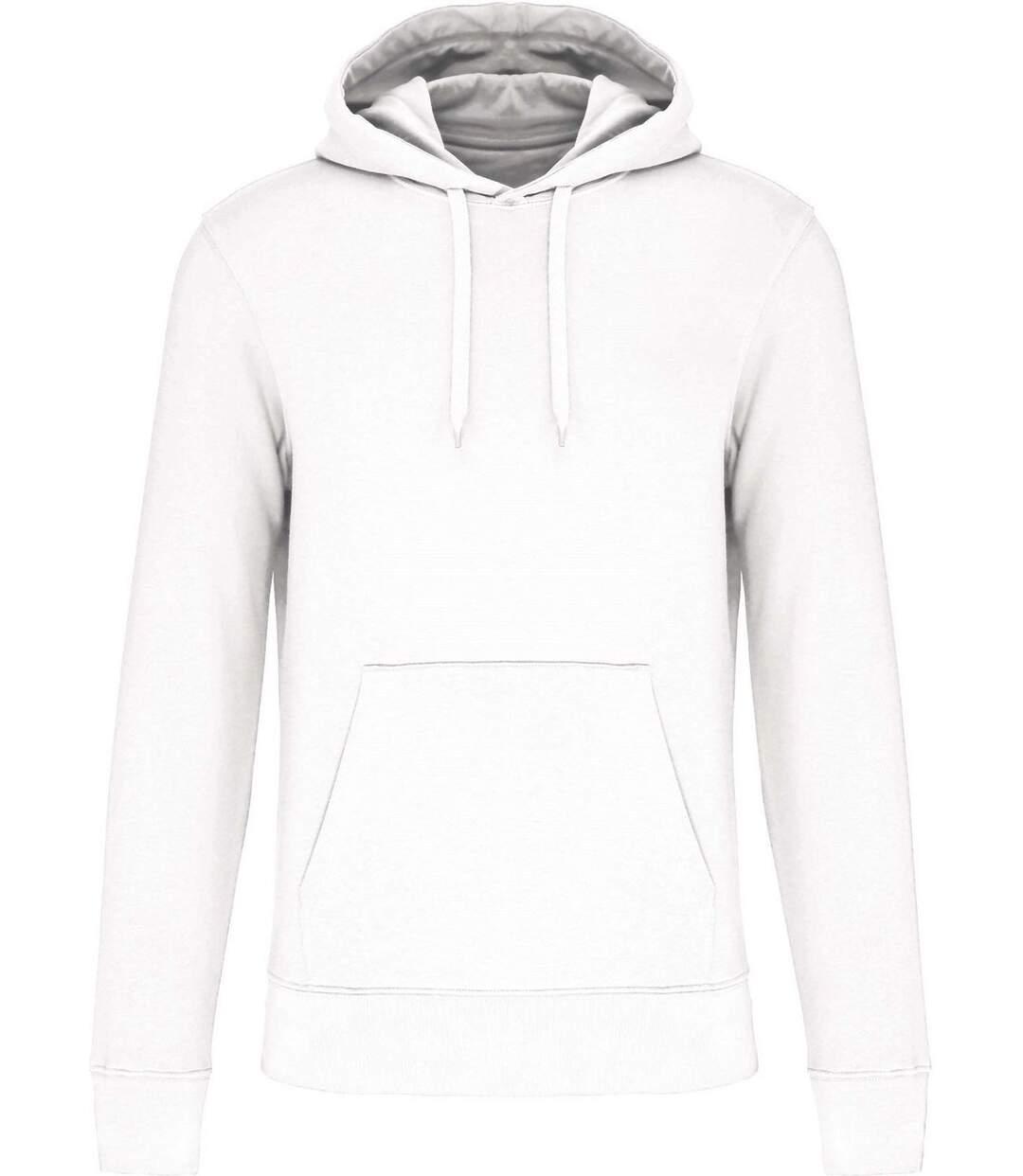 Sweat à capuche écoresponsable - Homme - K4027 - blanc