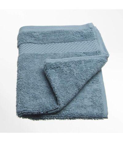 Serviette de toilette Coton peigné - 50 x 30 cm. - Bleu
