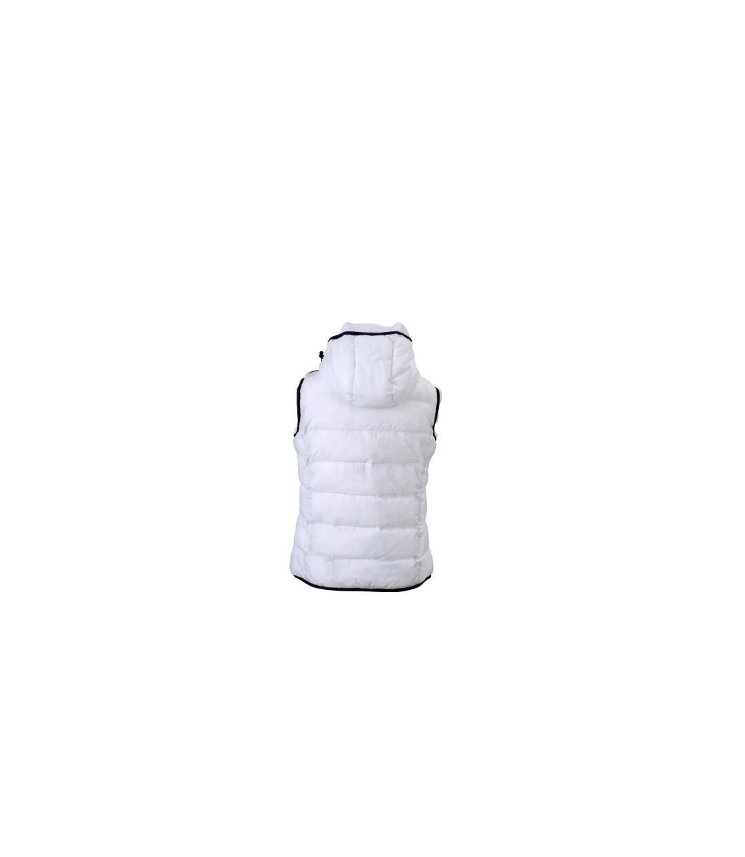 Doudoune sans manches pour femme - JN1075 - blanc